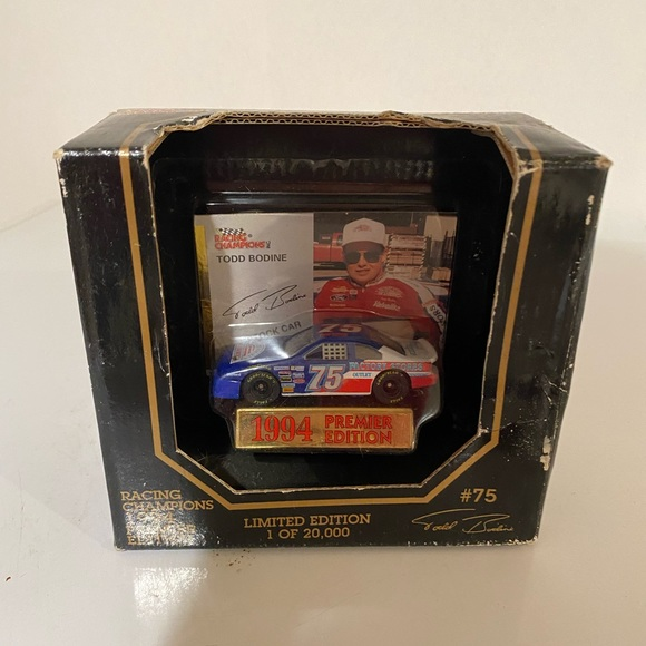 Nacar collectible Todd Bodine match box car